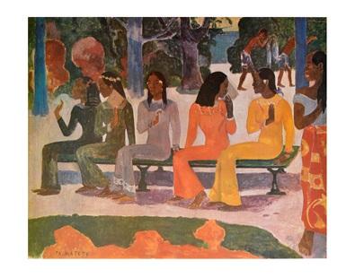 Paul Gauguin Ta Matete