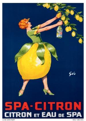 Geoffrey Spa-Citron, Citron et Eau de Spa