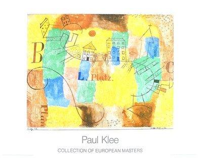 Paul Klee Der L-Platz im Bau