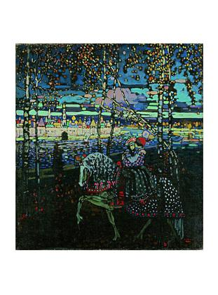 Wassily Kandinsky Reitendes Paar, 1905