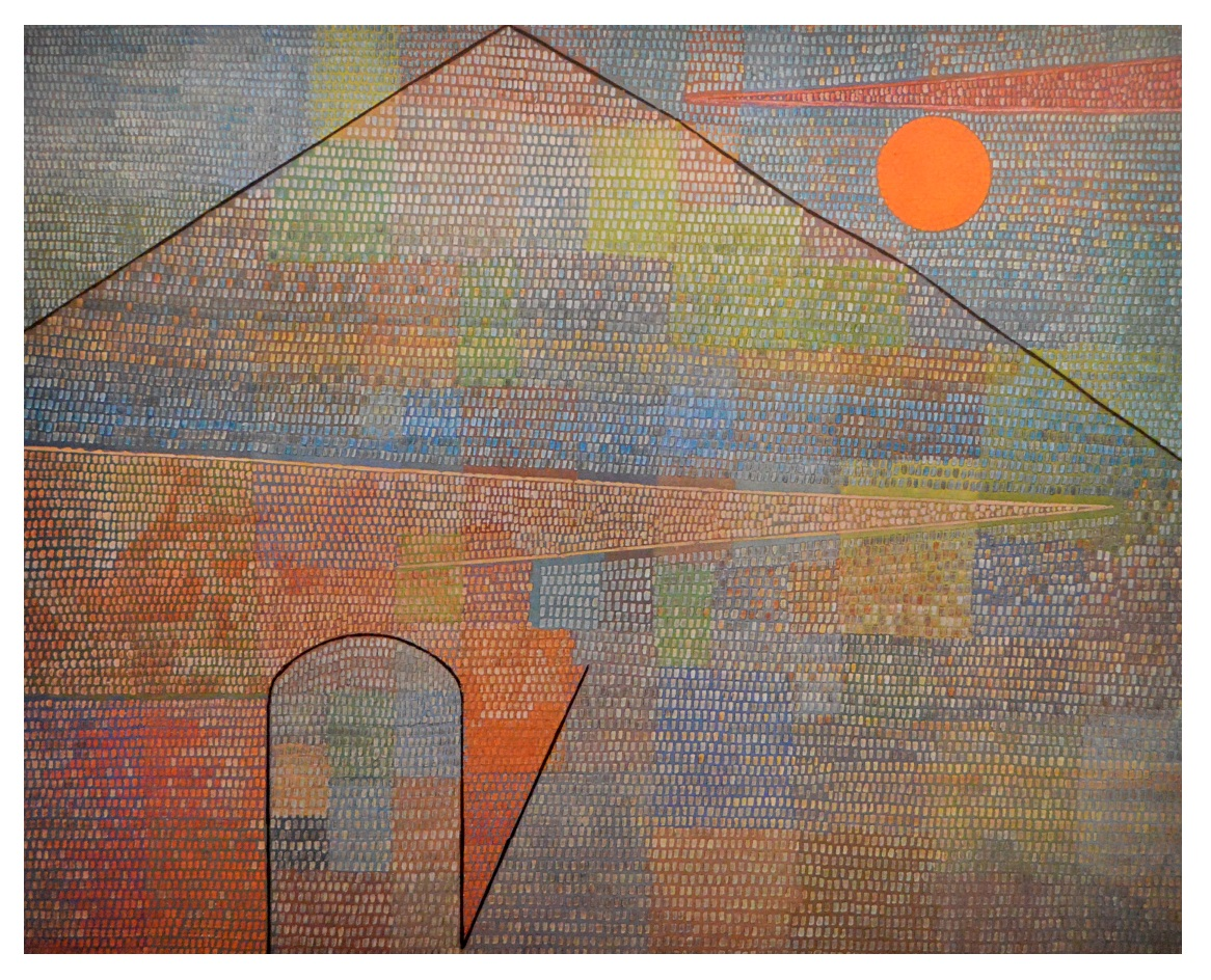 paul klee ad parnassum poster kunstdruck bild 48x60cm ebay. Black Bedroom Furniture Sets. Home Design Ideas
