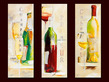 Elizabeth Espin 3er Set 'Pour Les Moments Particuliers' + 'Le Vin du Mois' + 'Le Vin de L'Ete''