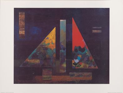 Wassily Kandinsky Scharfes Heiss (1927)