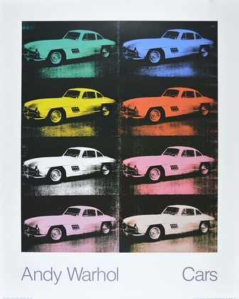 Andy Warhol Cars 300 SL Coupe Bj 1954