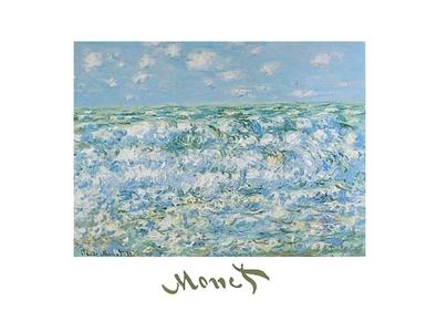 Claude Monet Mare Agitato