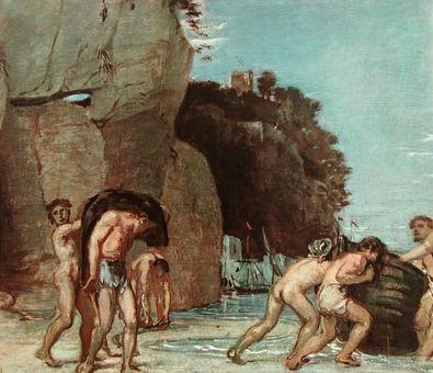 Hans von Marees Ausfahrende Fischer