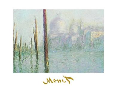 Claude Monet Venedig - Der grosse Kanal