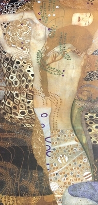 Gustav Klimt Sea Serpents II