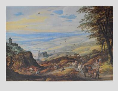 Josse de Momper Landschaft mit weiter Fernsicht
