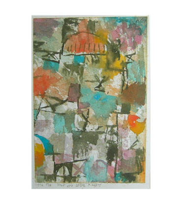 Paul Klee mit der roten Kuppel