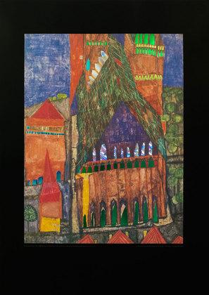 Friedensreich Hundertwasser Kathedrale I  Marrakesch
