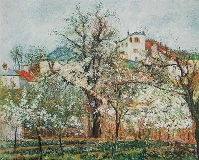 Camille Pissarro Fruehling in Pontoise