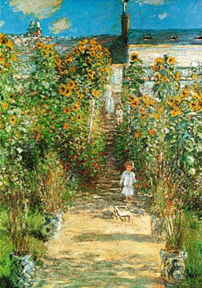 Claude Monet Il giardino di Monet