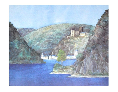 Westphal helga loreley st goarshausen und burg katz large