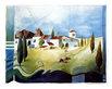 Thuilot ludger landschaft mit haeuser und zypressen medium