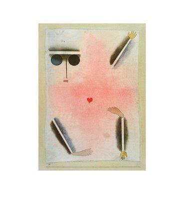 Paul Klee Hat Kopf  Hand  Fuss und Herz