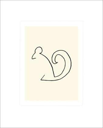 Pablo Picasso Eichhoernchen