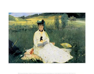 Berthe Morisot Reading