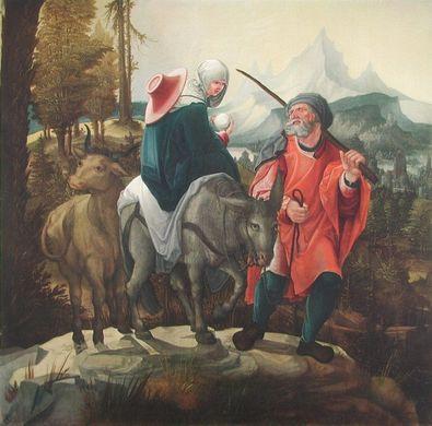 Wolf Huber Flucht nach aegypten