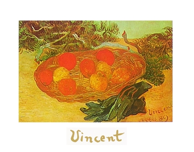 Vincent van Gogh Stillleben mit blauen Handschuhen