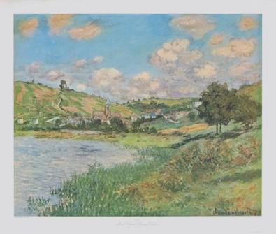 Claude Monet Landschaft bei Vétheuil
