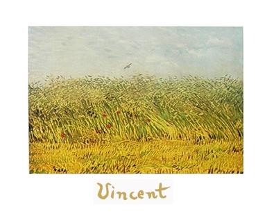 Vincent van Gogh Das Weizenfeld