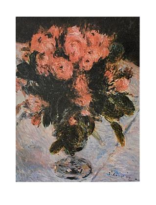 Auguste Renoir Strauss Rosen