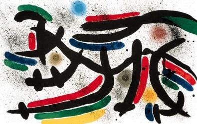 Joan Miro Volume 1 Blatt 9