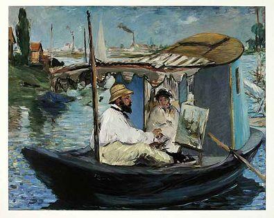 Edouard Manet Die Barke