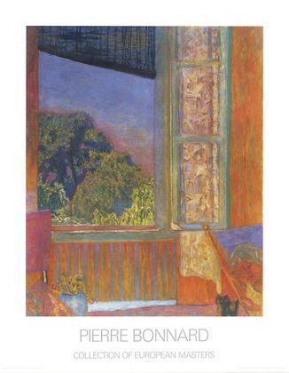 Pierre bonnard la fenetre ouverte poster kunstdruck bei for Pierre bonnard la fenetre