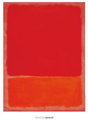 Mark Rothko Untitled (Red, Orange)