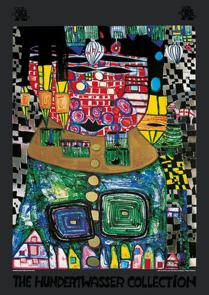 Hundertwasser friedensreich antipode king large