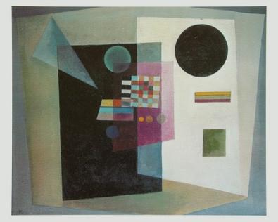 Wassily Kandinsky Behauptend