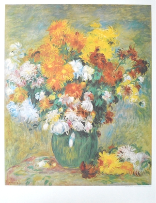 Auguste Renoir Chrysanthemen