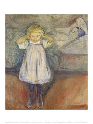 Edvard Munch Das Kind und der Tod, 1899