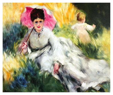 Pierre Auguste Renoir Lady with a Parasol