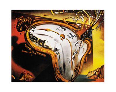 Salvador Dali Die Weichen Zeiger