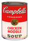 Warhol andy campbells soup chicken noodle medium
