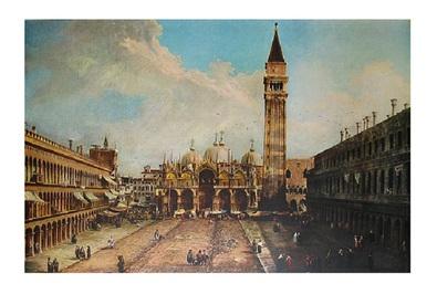 Antonio Canaletto Piazza San Marco in Vendig