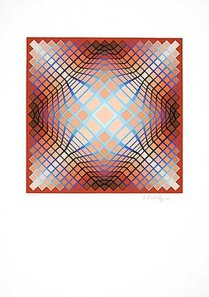 Victor Vasarely Sans Titre 2 (F.V. 3 30)