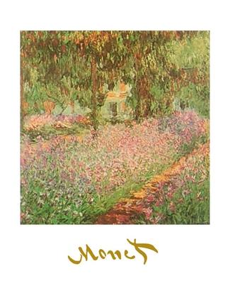 Claude Monet Monets Garten in Giverny