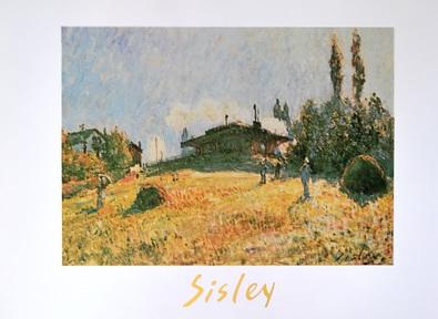 Alfred Sisley Station at Serres