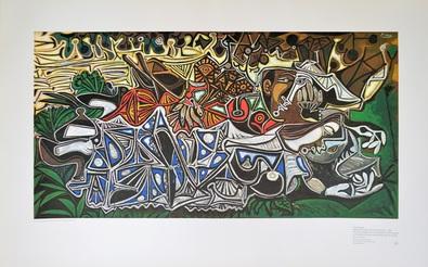 Pablo Picasso Maedchen am Ufer der Seine