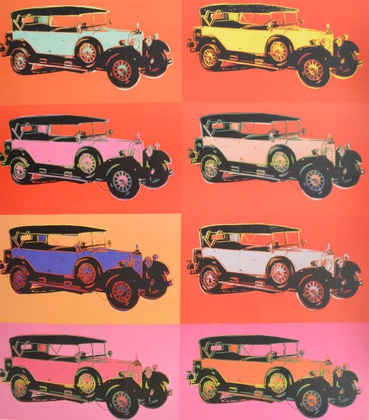 Andy Warhol Cars, Mercedes Typ 400 Bj. 1925