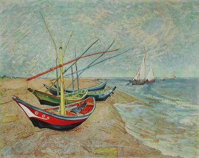 Vincent van Gogh Boote von St Maries  1888 1