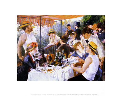 Pierre Auguste Renoir Luncheon of the Boating Party (klein)