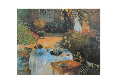Claude Monet le dejeuner (ohne Schrift)