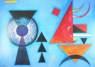 Wassily Kandinsky weiches Hart
