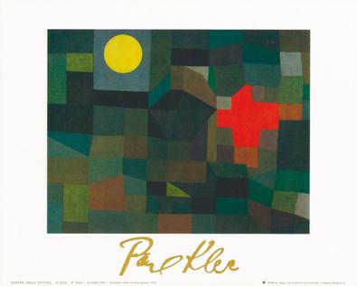 Paul Klee Incendio la luna piena 1933