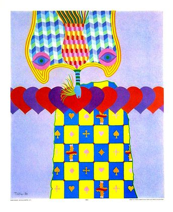 Heinz Troekes Gluecksspiel (45x54cm)